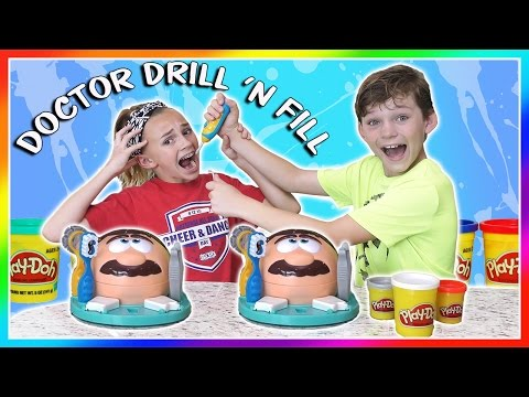 DOCTOR DRILL 'N FILL CHALLENGE | PLAY DOH | We Are The Davises