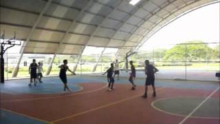 Intercambio con escuela de baloncesto la isabelica