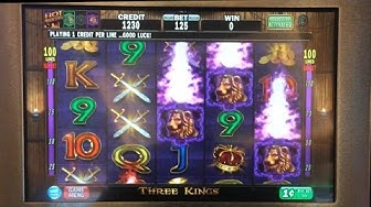 Three Kings classic slot machine, DBG