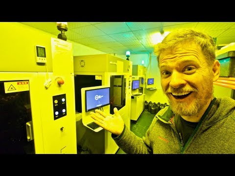 Inside a Chinese 3D Printing Factory - in Shenzhen, China