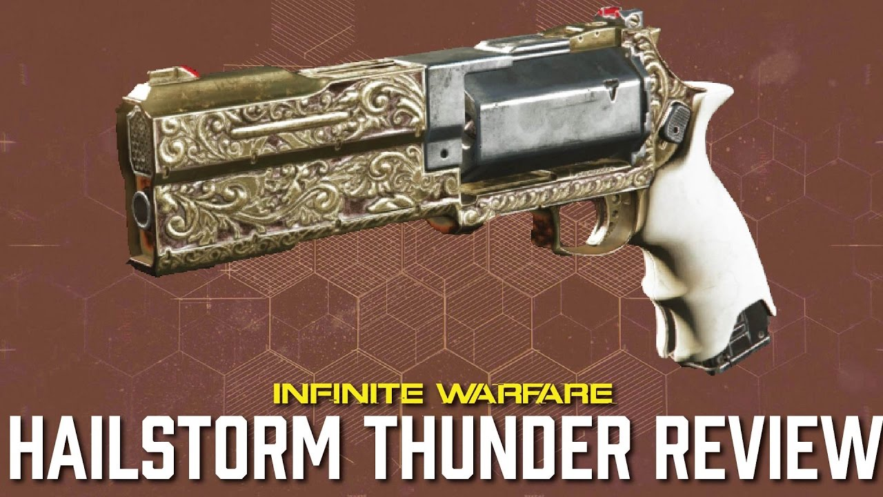 Hailstorm Thunder Infinite Warfare Epic Weapon Review Youtube