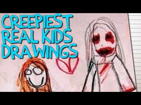 Download Youtube: 14 CREEPY Children's Drawings That Will TERRIFY You!