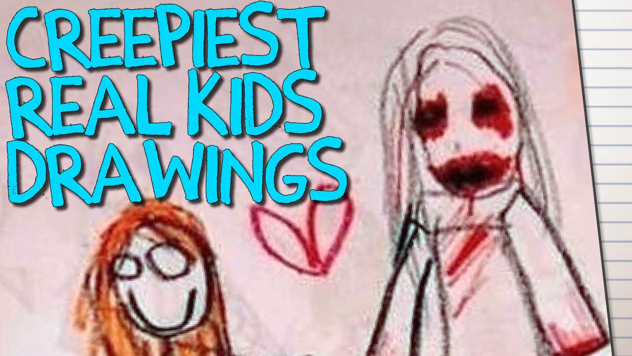 Uncategorized Picture Of Drawings 14 creepy childrens drawings that will terrify you youtube