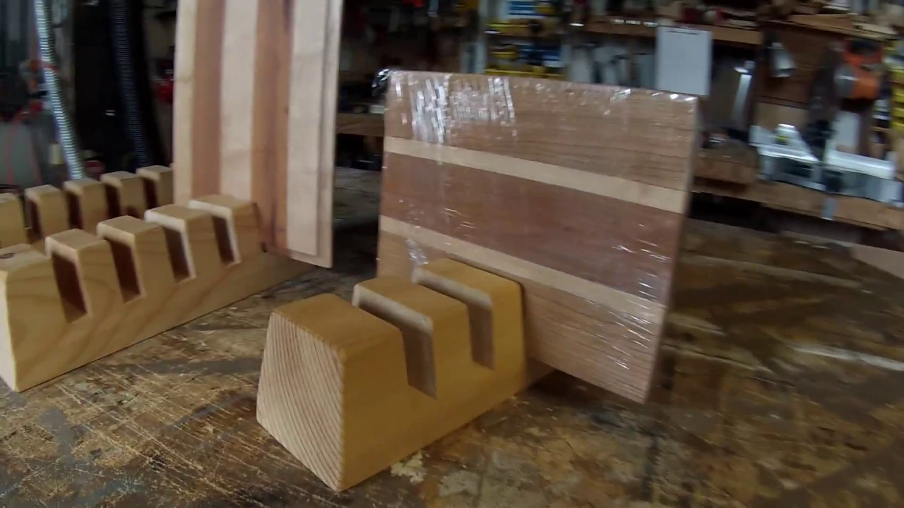 Making Cutting Board Stands Simple