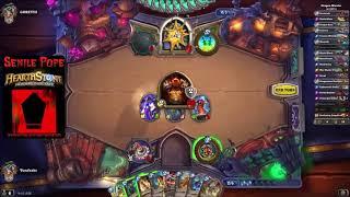 Hearthstone RR: WILD - Kingsbane Rogue vs Dragon Warrior (Season 57 Day 5)