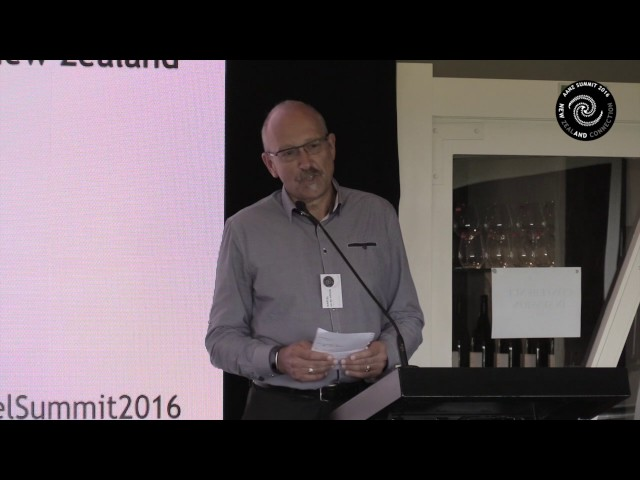 AANZ Chair's Welcome to 9th Annual Angel Summit 2016