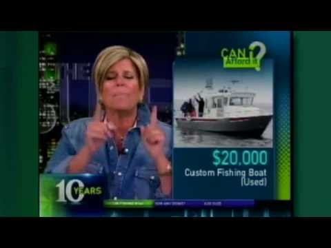 I Want to Buy a Custom Built Fishing Boat. Can I Afford it? | Suze Orman