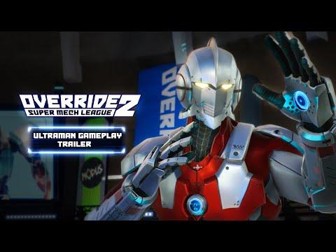 Override 2: Super Mech League – Ultraman Gameplay Trailer