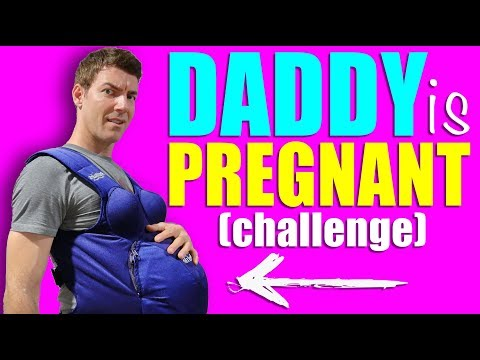 WE ARE VERY PREGNANT FOR A DAY – Husband Wears Pregnant Belly