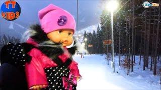✔ Кукла Ненуко и Ярослава на канатной дороге в Буковеле / Doll Nenuco / Holidays in Bukovel ✔
