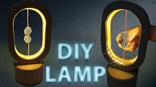 DIY Unique Night Lamp From Cardboard You've Never Seen | King Of Crafts