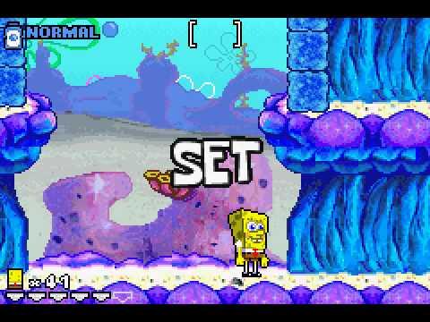 Game Boy Advance Longplay [113] SpongeBob SquarePants - Revenge of the Flying Dutchman