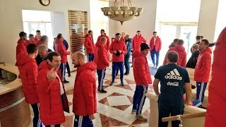Кто тренируется в составе сборной России перед матчами с Бразилией и Францией