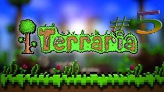 Прохождение Terraria 1.3.1 #5 Мега фейл