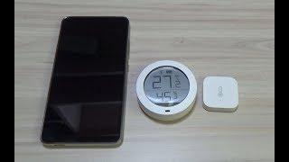 Xiaomi Mijia Bluetooth - Датчик температуры и влажности с дисплеем
