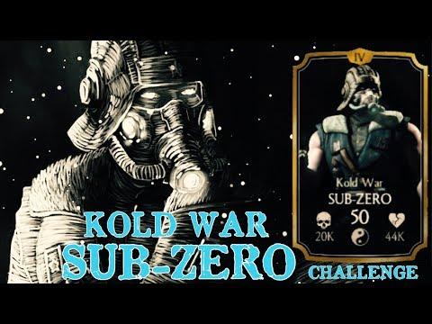Mortal Kombat X Mobile:Kold War Sub-Zero Challenge thumbnail