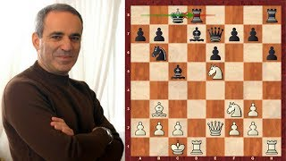 Amazing Chess Game: Garry Kasparov vs Anatoly Karpov - Linares 1992 - Caro-Kann Defense (B17)