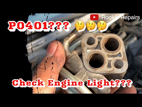 How to Replace EGR Valve and EGR Gasket P0401 Mitsubishi Eclipse 2.4 2000-2005