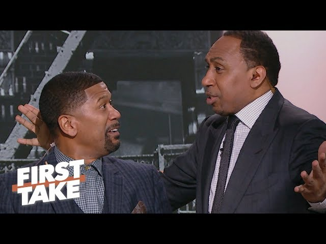 Stephen A., Jalen Rose can't handle Paul Pierce's 'blasphemous' LeBron James take | First Take