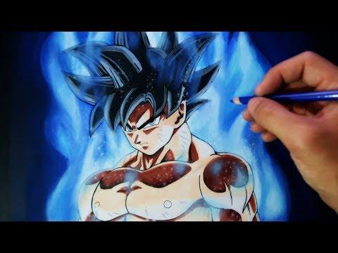 Cómo Dibujar A Goku Migatte No Gokuiultra Instinct
