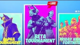 LIVE FORTNITE ONLINE MONEY TOURNAMENTS! $$ (FORTNITE BATTLE ROYALE)