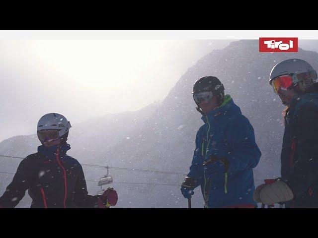 Skifahren auf dem Stubaier Gletscher: Skiurlaub im Stubaital ⛷