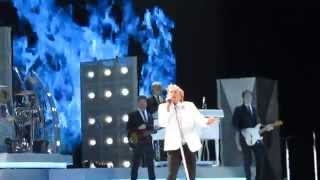 Rod Stewart - Forever Young -  Close Up - Live - Chicago 2014