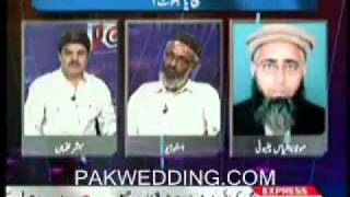 Maulana Ehtesham Elahi Zaheer - proved LIAR - Point Blank 24th March 2010