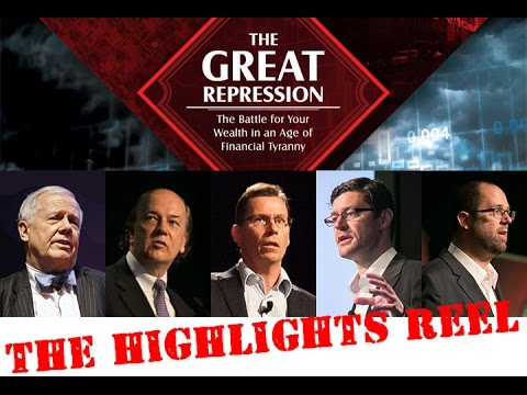 The Great Repression Conference - 'Virtual Seat' On Sale Now