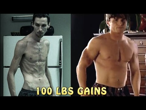 Extreme Dedication ★ Christian Bale Body Transformation