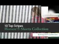 10 Top Stripes Women'S Shorts Collection Spring 2017 Collection