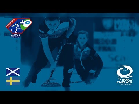 Scotland v Sweden - Round-robin - World Mixed Doubles Curling Championship 2018