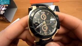 TISSOT T-Race Automatic Black Rubber Chrono Men's Watch T0484272705701 - E-oro.gr