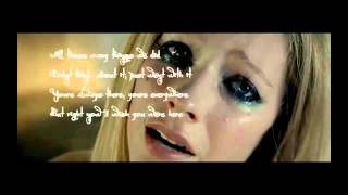 Video Wish you were here - Avril Lavigne - Lyrics download MP3, 3GP, MP4, WEBM, AVI, FLV Mei 2018