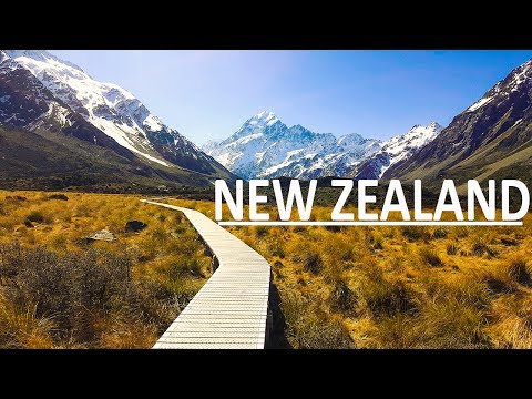 NEW ZEALAND TRAVEL VIDEO // GOPRO HERO 5 BLACK