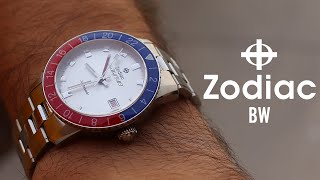 Unboxing the Zodiac Sea Wolf GMT Crystal Topper Edition