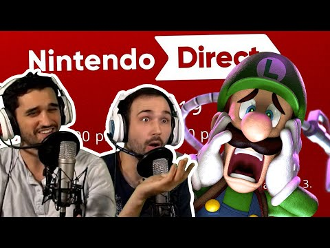 【 Nintendo Direct 9.04.2019 】 FULL LIVE REACTION | Luigi's Mansion + Pokemon?
