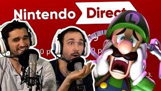 【 Nintendo Direct 9.04.2019 】 FULL LIVE REACTION   Luigi's Mansion + Pokemon