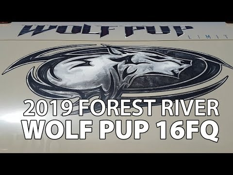 2019-forest-river-wolf-pup-16fq-full-tour