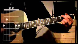 COMFORTABLY NUMB Pink Floyd Acoustic Guitar Lesson