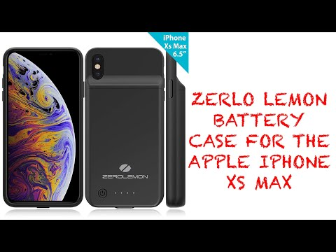 check out e47c6 bd857 Repeat [UNBOXING AND FIRST LOOKS] ZeroLemon Battery Case for the ...