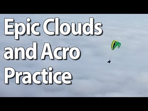 Epic Clouds and Controlled Acrobatics -  Paramotor