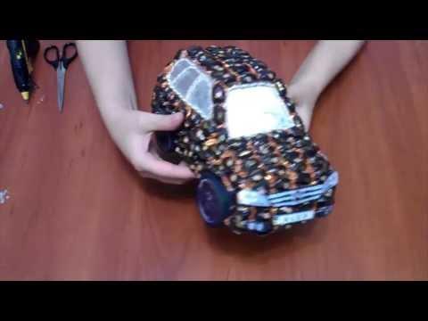 руль из конфет своими руками пошаговое фото киа