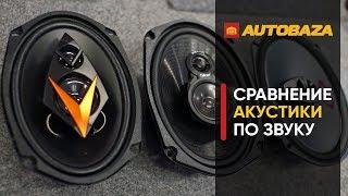 Какие овалы лучше? Выбираем акустику по звуку. Акустические системы для авто.