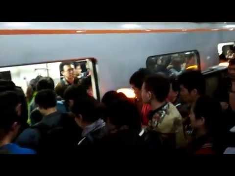 Ordinary day in Beijing subway