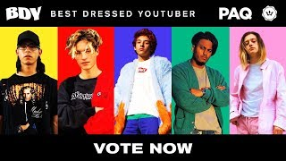Who is the Best Dressed YouTuber of 2018? VOTE NOW! | Lightwei…
