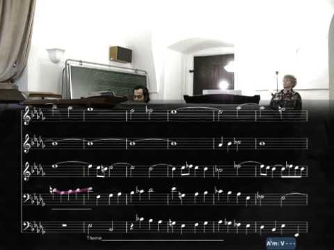 "mustafa avşar - ""Fugue / WTC1 No. 22 in b flat minor BWV 867"" (J. S. Bach)"