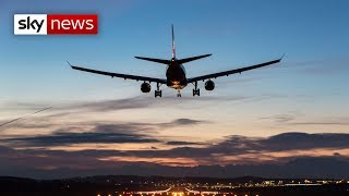 Stowaway falls from plane in London