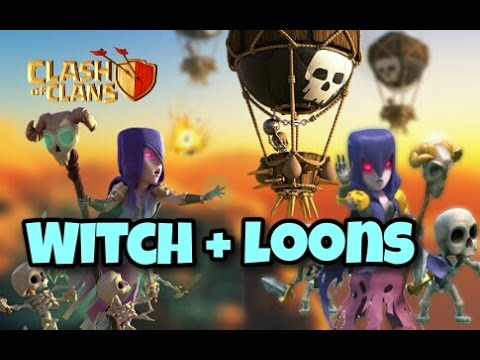witch loons gobowiloon th9 new 3 stars war attack strategy after update clash of clans youtube - Stars War