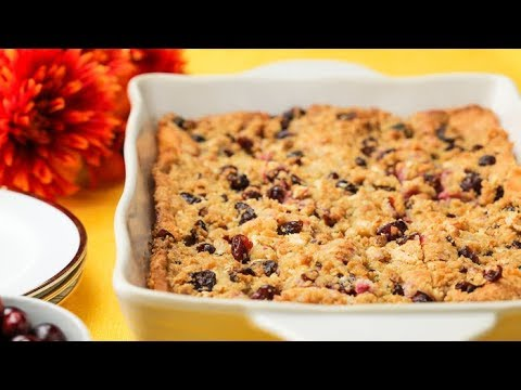 White Chocolate Cranberry Coffee Cake // Presented by LG USA